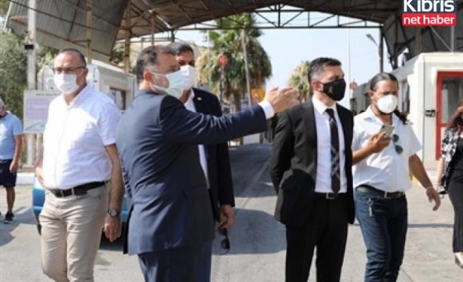 Başbakan Saner, Beyarmudu'nda incelemelerde bulundu