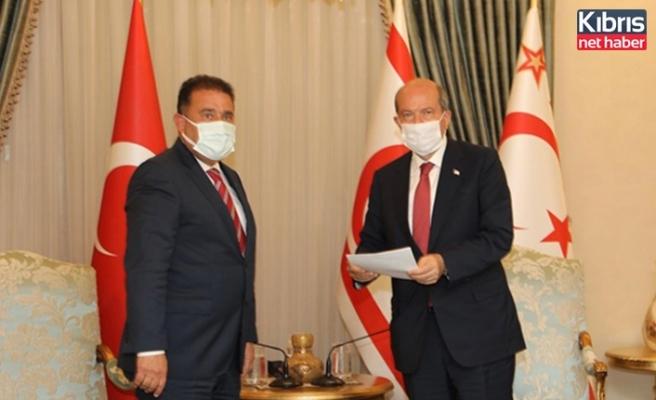 Başbakan Saner, Çağman'ın Bakanlığa yeniden atanması önerisini Cumhurbaşkanına sundu