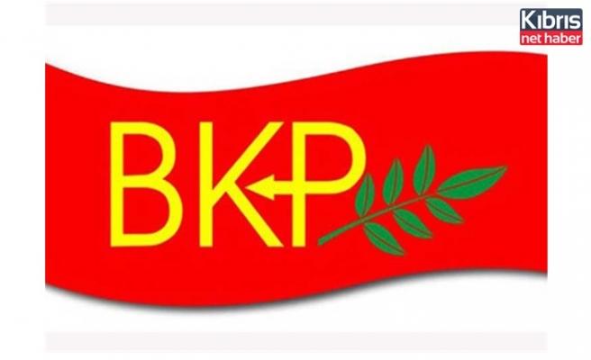 BKP'den, CTP ve TDP'nin kararına destek