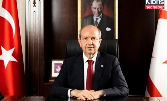 """Cumhurbaşkanı Tatar:  """"ok yaydan çıkmıştır"""""""