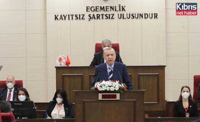 Erdoğan: Kıbrıs davası öksüz değildir
