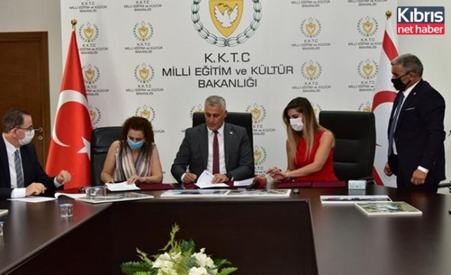 Kanlıköy'de Bulunan Eski Okul Yerleşkesi İçerisine Yapılacak Tesis İle İlgili Protokol İmzalandı