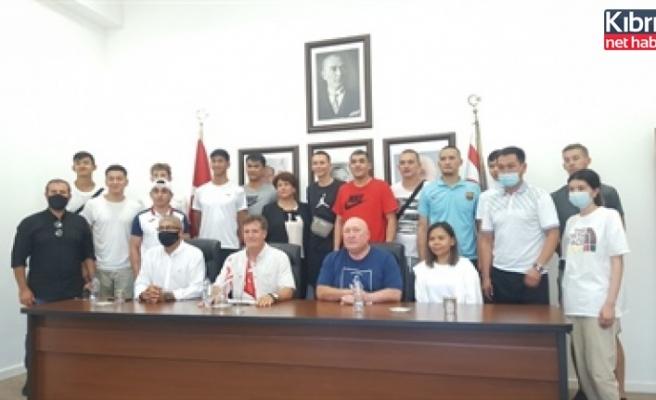 Kırgızistan basketbol millî takımı KKTC'de