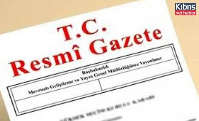 KkTC İle İmzalanan Anlaşmaya  İlişkin Kararlar Türkiye  Resmi Gazetesinde Yayımlandı