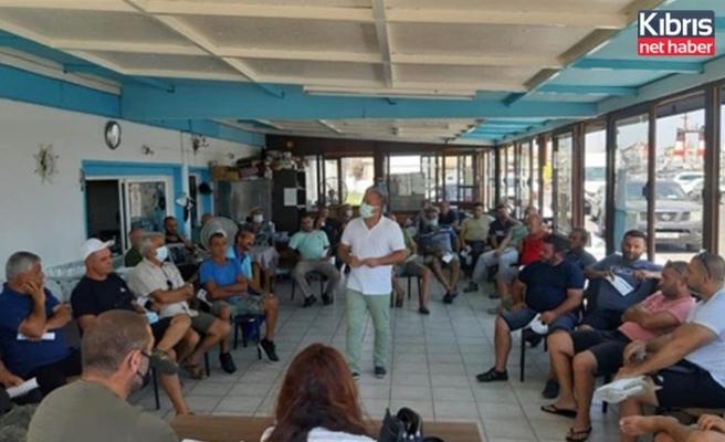 Mağusa'da balıkçılık ile ilgili bilgilendirme toplantısı düzenlendi