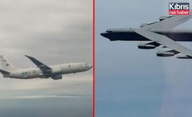 Rus ve ABD savaş uçakları karşı karşıya geldi