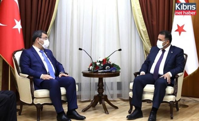 Saner, Azerbaycan Milli Meclisi Dışişleri ve parlamentolar arası ilişkiler komitesi heyetini kabul etti