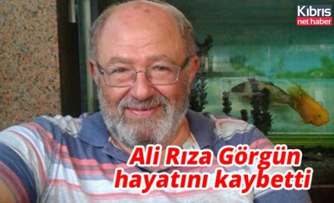Tanınmış avukat Ali Rıza Görgün hayatını kaybetti