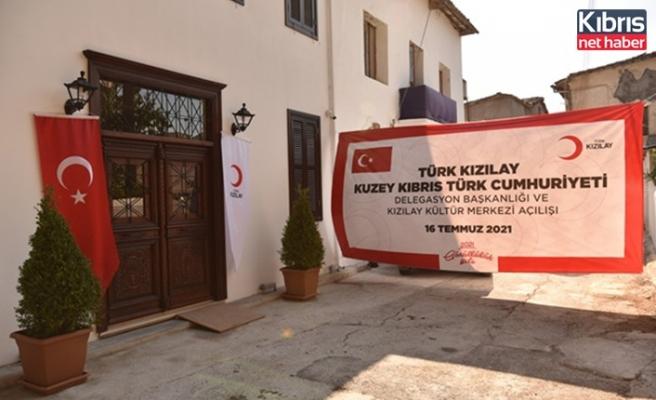 Türk Kızılay KKTC Delegasyonu Başkanlık Ofisi ve Kültür Merkezi'nin açılışı yapıldı