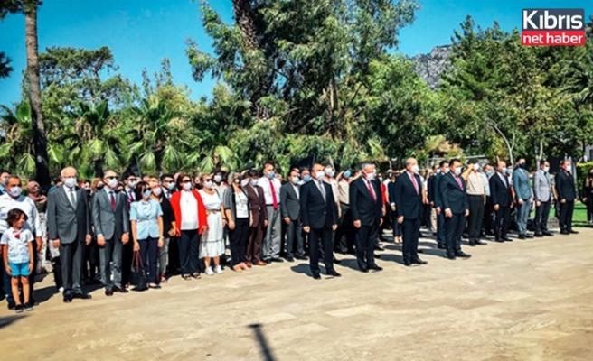 Türkiye'nin 15 Temmuz Demokrasi ve Milli Birlik Günü nedeniyle KKTC'de anma töreni düzenlendi