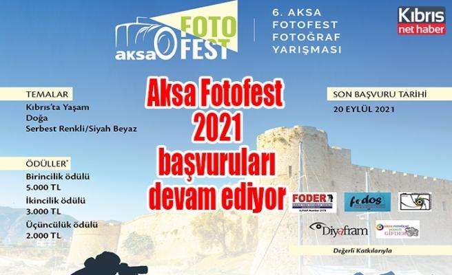 Aksa Fotofest 2021 başvuruları devam ediyor, Başvurular için son 11 gün!