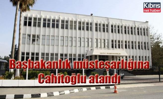 Başbakanlık müsteşarlığına Cahitoğlu atandı
