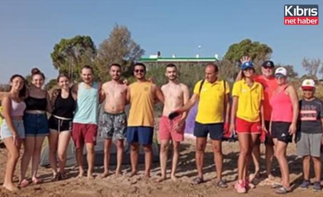 Bedis ve Venüs plajları temizlendi