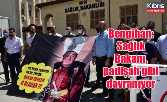 Bengihan: Sağlık Bakanı, padişah gibi davranıyor