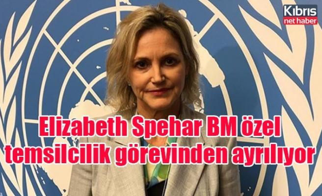 Elizabeth Spehar BM özel temsilcilik görevinden ayrılıyor