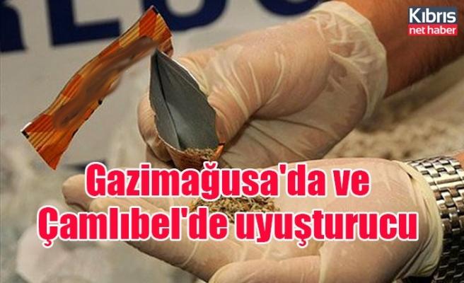 Gazimağusa'da ve Çamlıbel'de uyuşturucu