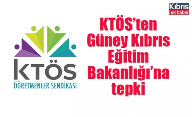 KTÖS'ten Güney Kıbrıs Eğitim Bakanlığı'na tepki