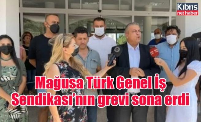 Mağusa Türk Genel İş Sendikası'nın grevi sona erdi