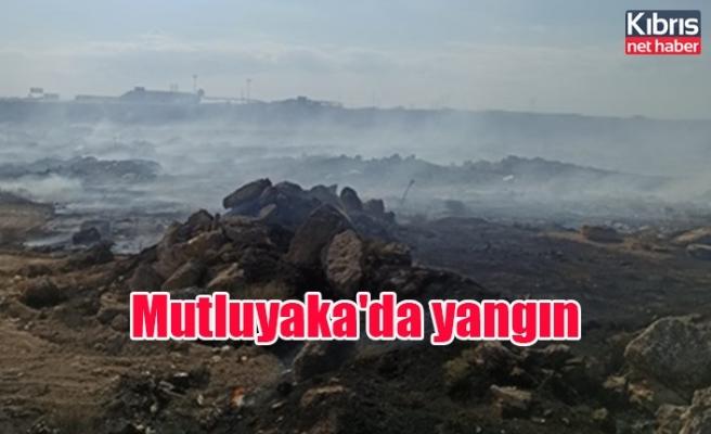 Mutluyaka'da yangın