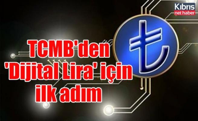 TCMB'den 'Dijital Lira' için ilk adım