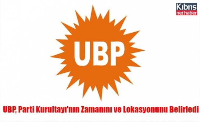 UBP, Parti Kurultayı'nın Zamanını ve Lokasyonunu Belirledi
