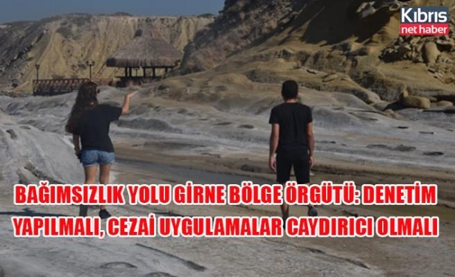 Bağımsızlık Yolu Girne Bölge Örgütü: Denetim yapılmalı, cezai uygulamalar caydırıcı olmalı