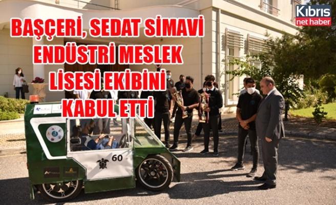 Başçeri, Sedat Simavi Endüstri Meslek Lisesi ekibini kabul etti