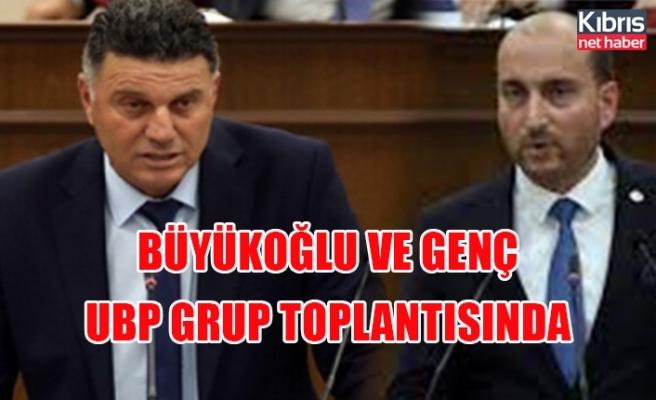 Büyükoğlu ve Genç UBP grup toplantısında