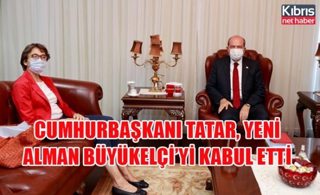 Cumhurbaşkanı Tatar, yeni Alman Büyükelçi'yi kabul etti