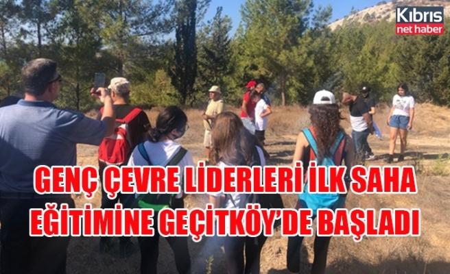 Genç çevre liderleri ilk saha eğitimine Geçitköy'de başladı
