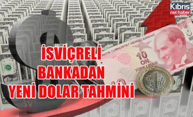 İsviçreli bankadan yeni Dolar tahmini