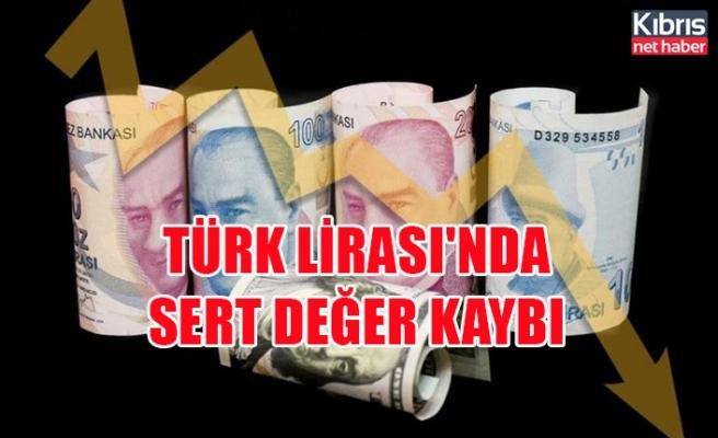 Türk Lirası'nda sert değer kaybı
