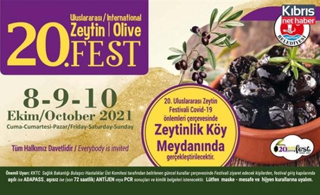Zeytin festivali yarın başlıyor