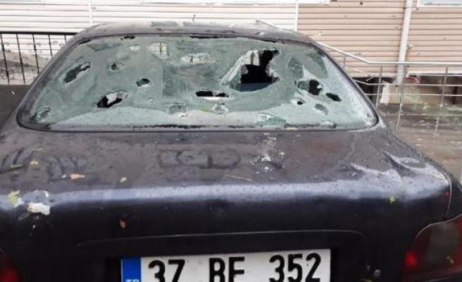 370 araç ve 90 evde hasar var...
