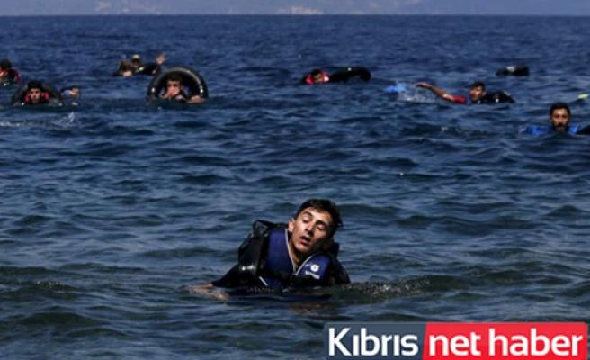 Akdeniz üzerinden altı ayda 100 bin göçmen