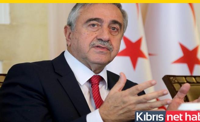 Akıncı, Kılıçdaroğlu'na geçmiş olsun mesajı yayımladı