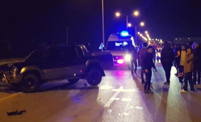 Alayköy'de kaza! Yaya çarptı