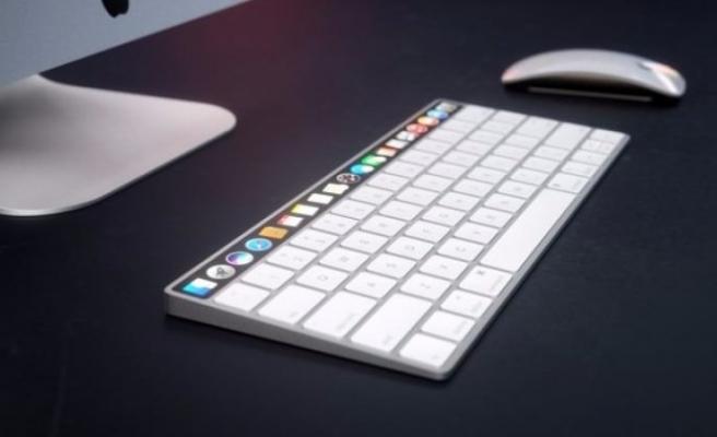 Apple'ın kablosuz klavyelerine ekran geliyor