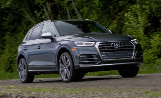 Audi'nin hızlı SUV modeli Audi SQ5 TDI