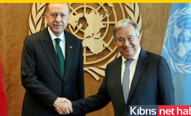 BM'den 'Erdoğan-Guterres Görüşmesi' Açıklaması