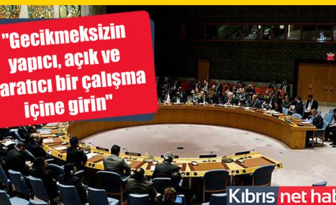 BMGK'dan Kıbrıs sorunun çözümü için taraflara çağrı