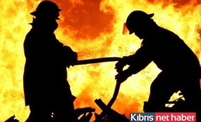 Cratos'ta büyük yangın