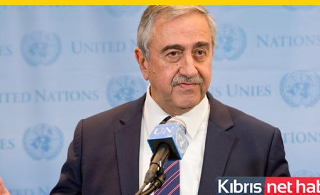 Cumhurbaşkanı Akıncı, Pazartesi İstanbul'a Gidecek