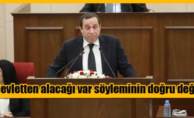"""DENKTAŞ: """"KIB-TEK'LE MAHSUPLAŞMA YAPILDI"""