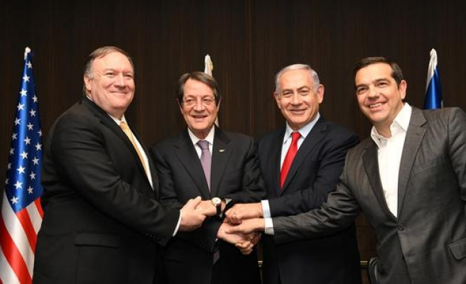 Doğu Akdeniz gazı için üçlü zirve düzenlendi!