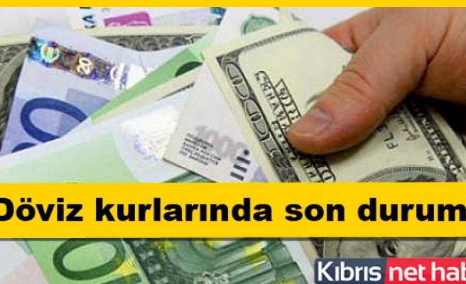 Dolar, Euro ve Sterlinde son rakamlar
