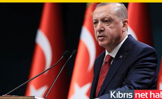 Erdoğan'dan Kıbrıs sorunu ve doğal gaz açıklaması