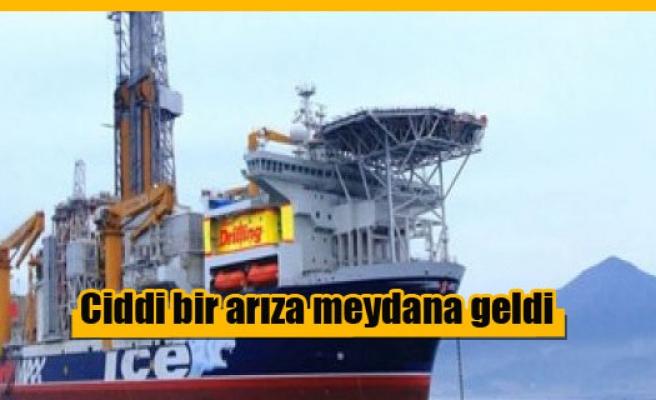 Exxon Mobil'in gemisi arızalandı