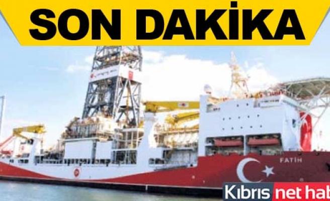 Fatih Sondaj Gemisi Akdeniz'de işbaşında