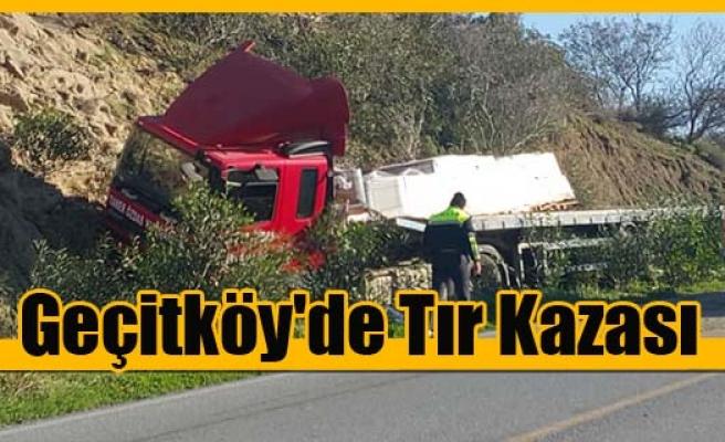 Geçitköy'de kaza: 1 yaralı